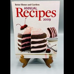 Better Homes Gardens Annual Recipes 2009 Cook Book